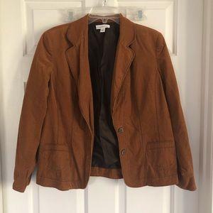 Corduroy soft blazer